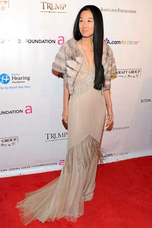 Vera Wang at Elton John Foundation