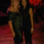 With Marjorie Gubelmann at DKMS event last night