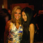 With Denise Rich at DKMS event