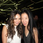 With Mila Kunis at MOCA