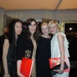 With Kate Mulleavy, and Kirsten Dunst