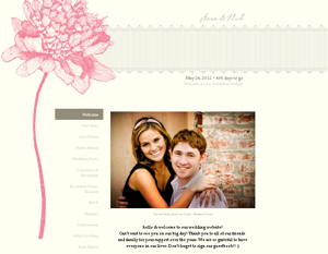 Wedding Websites in 3 Easy Steps | Vera Wang Blog