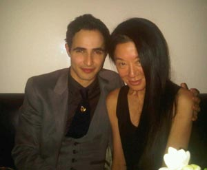Vera Wang and Zac Posen