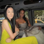Vera Wang and Jennifer Hudson