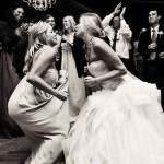 Bride on dance floor
