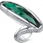 Tourmaline and diamond ring by Mark Schneider Design