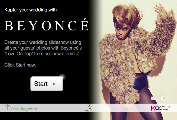 Kaptur Your Wedding with Beyoncé's <em>Love on Top</em>