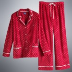 These Simply Vera Vera Wang for Kohl's pajamas are quite festive for Christmas morning.