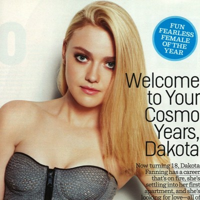 "Story:  ""Welcome to Your Cosmo Years, Dakota"" Editor: Michelle McCool Photographer: Matt Jones"