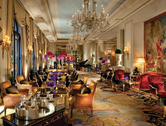 Four Seasons Hotel George V Paris | Photo courtesy of George V via VanityFair.com
