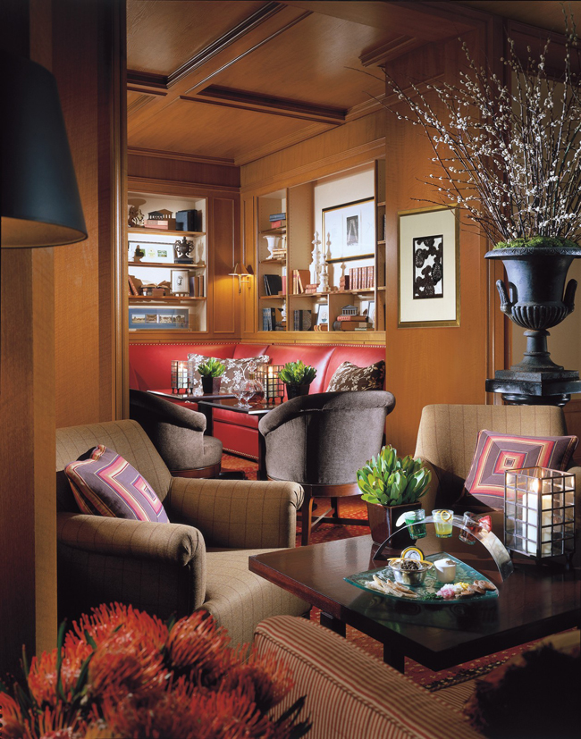 The Bristol Lounge | Image courtesy of Four Seasons Hotel Boston